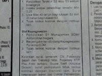 Lowongan Staf dan Dosen Sekolah Tinggi Teknologi (STT) Adisutjipto Yogyakarta 2017