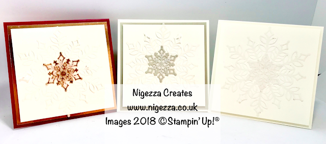 Snow is Glistening Christmas Card #7 Nigezza Creates