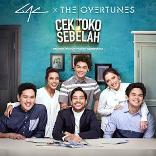 Lirik Lagu Senyuman dan Harapan - The Overtunes Feat GAC dari album cek toko sebelah, download album dan video mp3 terbaru 2018 gratis