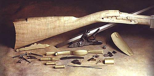 MI Models: Building the Jim Chambers Lancaster Flintlock