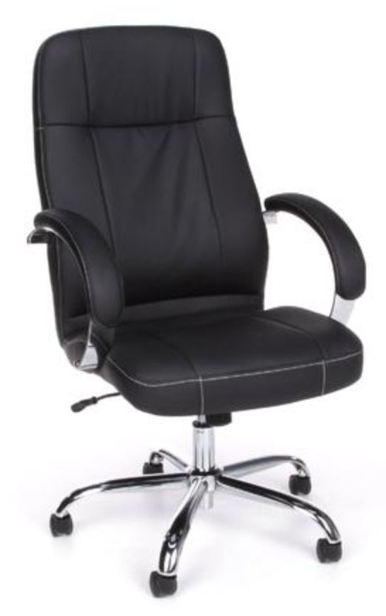 Leatherette Stimulus chair by OFM
