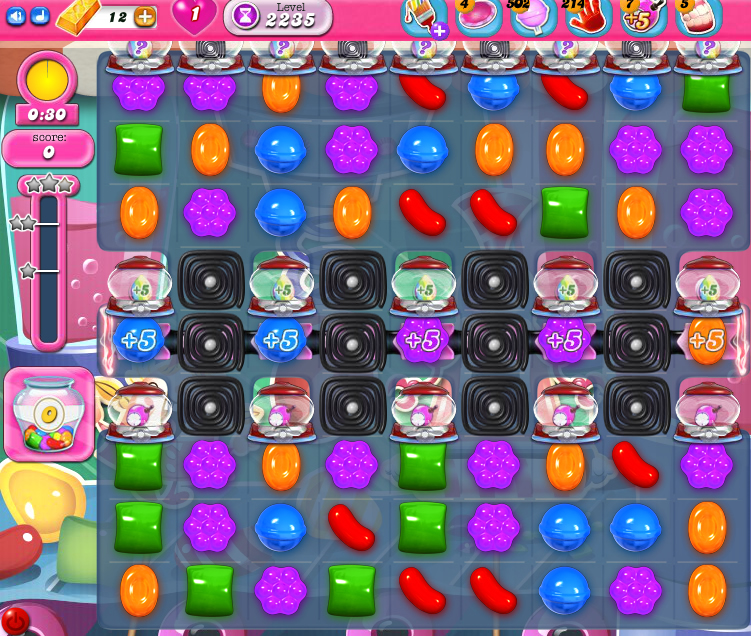 Candy Crush Saga level 2235
