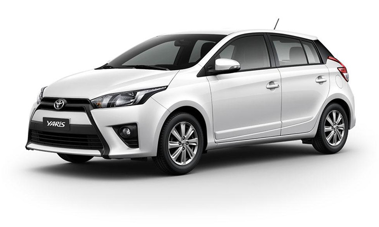 all new toyota yaris hatchback 2016 todays salt. Black Bedroom Furniture Sets. Home Design Ideas