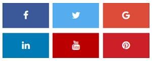 Social media follow button 1