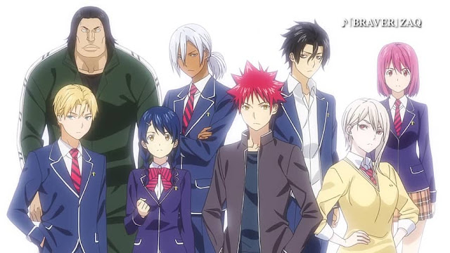 Second Cour of Food Wars! The Third Plate to premiere on April 8