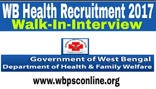 WB Health Recruitment - Walk-in-Interview For Accountant, LDC & Group-D Posts - image WB%2BHealth%2BRecrutment%2B2017 on http://wbpsconline.org