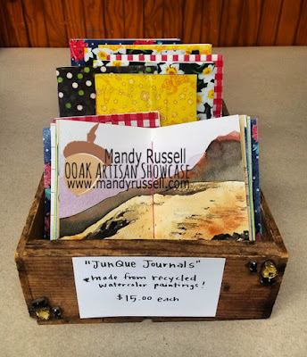 OOAK Artisans Mandy Russell Mixed Media Junque Journals
