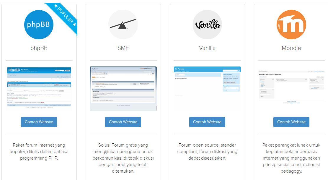 aplikasi pilihan forum