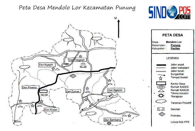 Profil Desa Mendolo Lor Kecamatan Punung Kabupaten Pacitan