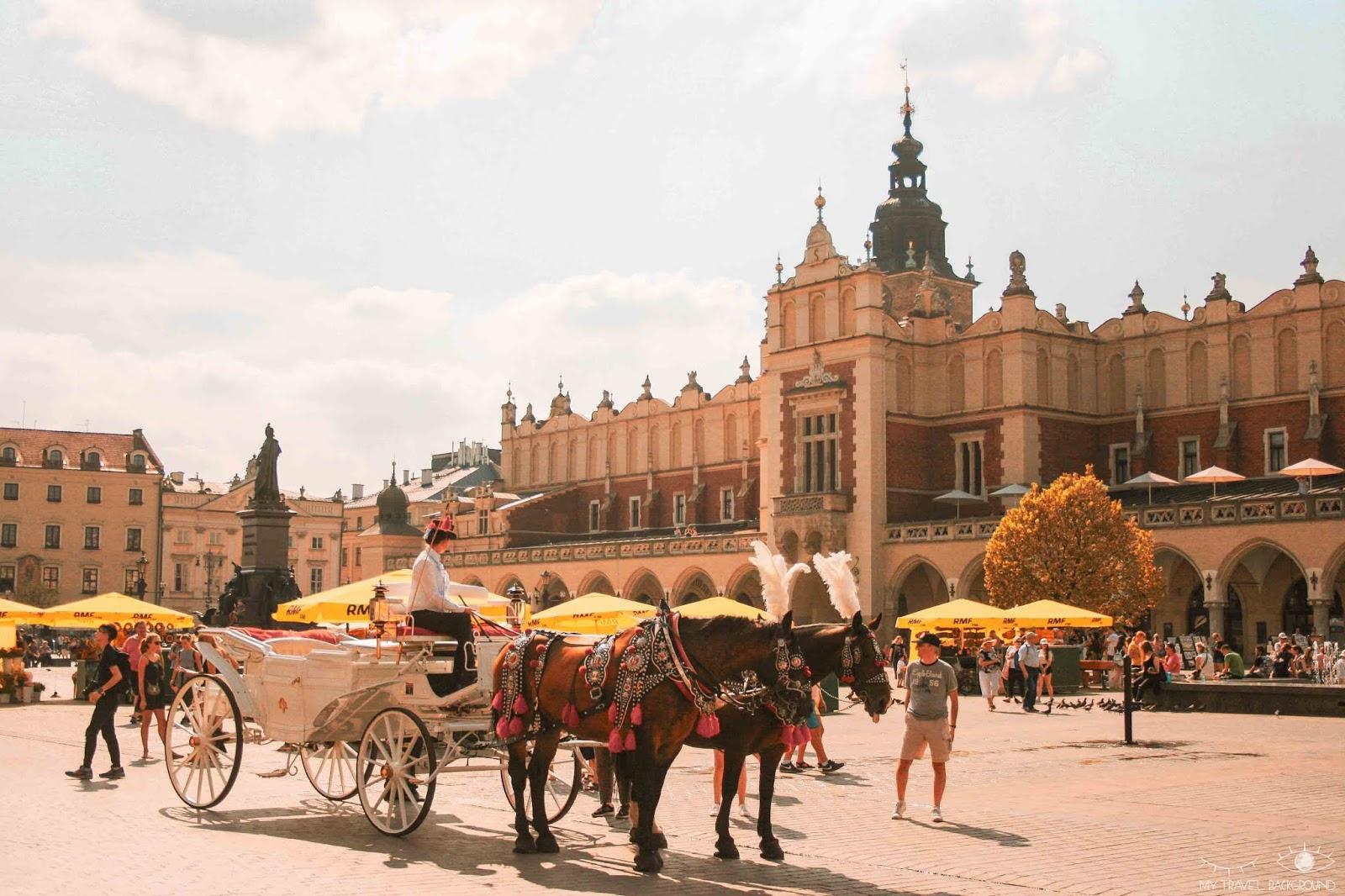 My Travel Background : Cracovie en Pologne, mon top 10 pour visiter la ville - Rynek Glowny, la place principale
