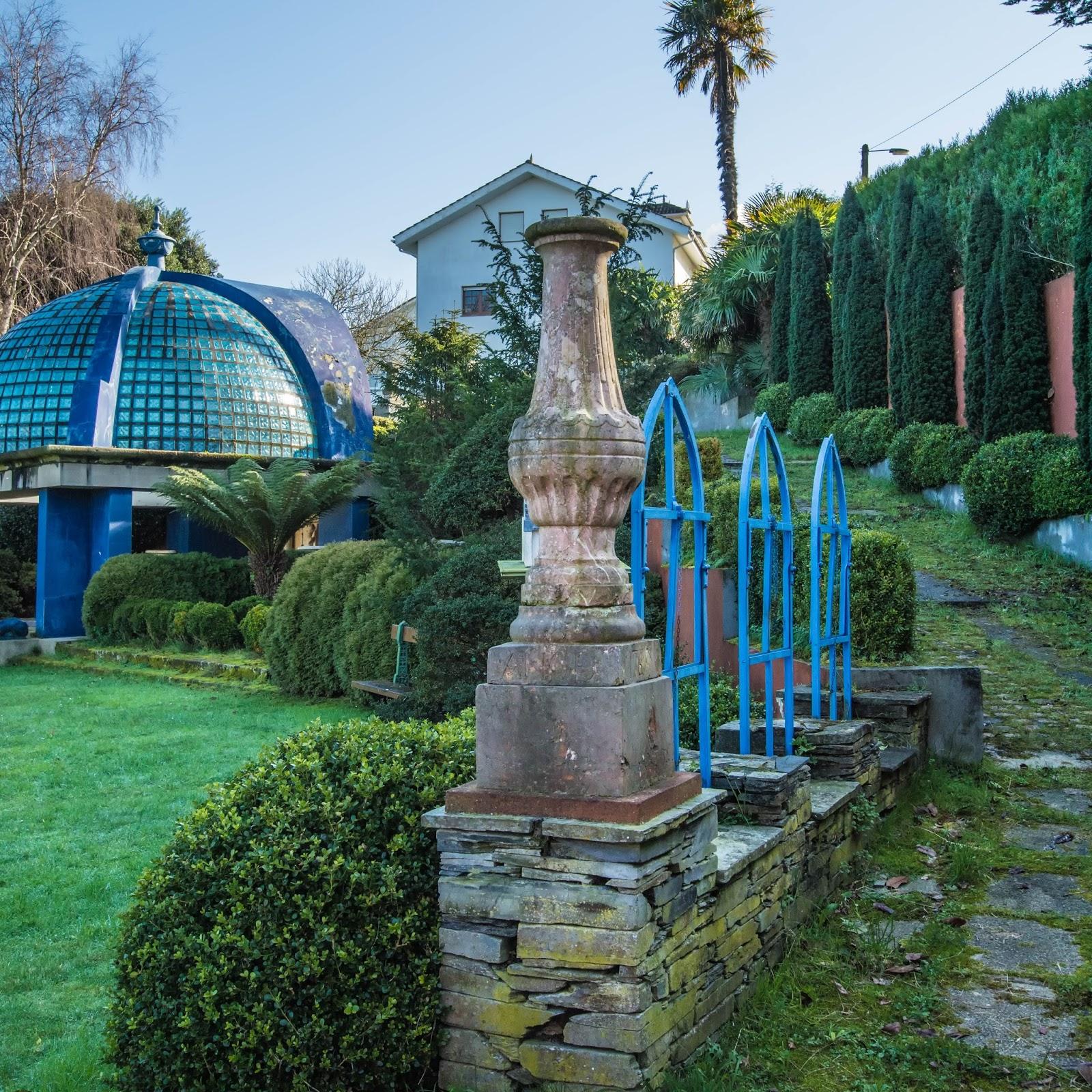 Fotografia y filatelia ii jardines de la fonte baixa for Jardines de la fonte baixa