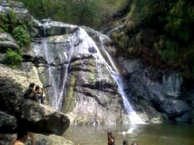 tempat wisata alam Air Terjun Lewaja di makasar