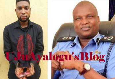 Nigerian celebrated crime buster, Assistant Commissioner of Police Abba Kyari, arrests the man impersonating him on Facebook