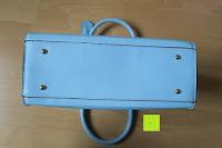 Boden: Veevan Damen Elegante Top-Handle Schultertasche Handtaschen (Blau)