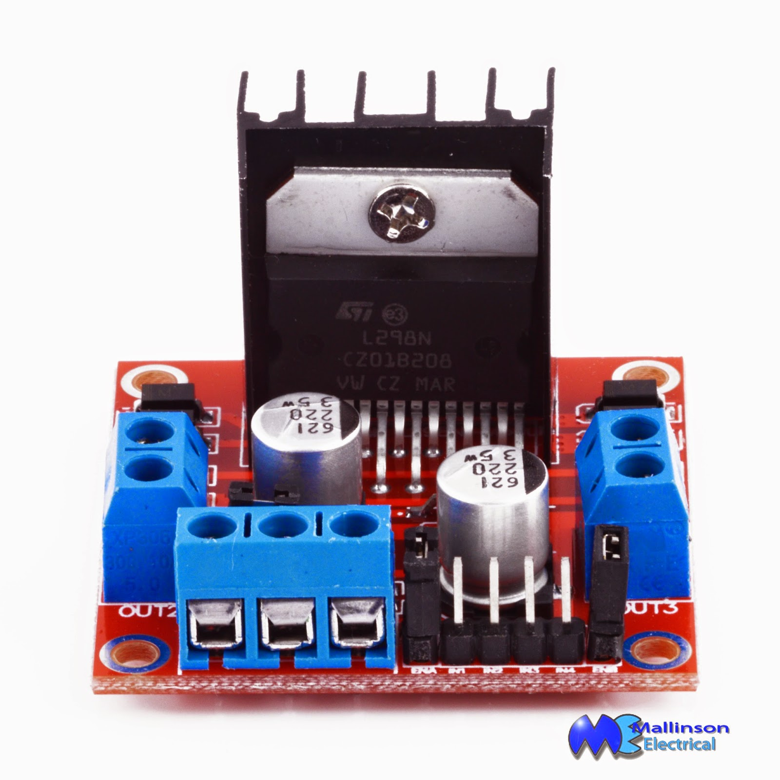 Mallinson Electrical Online Electronic Components Stepper Motor Arduino Wiring We Are Driving A Bi Polar From An To Get Enough Current Have Interfaced L298n H Bridge