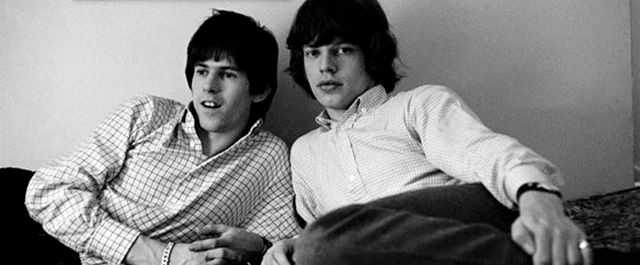 Keith Richards y Mick Jagger Jovenes