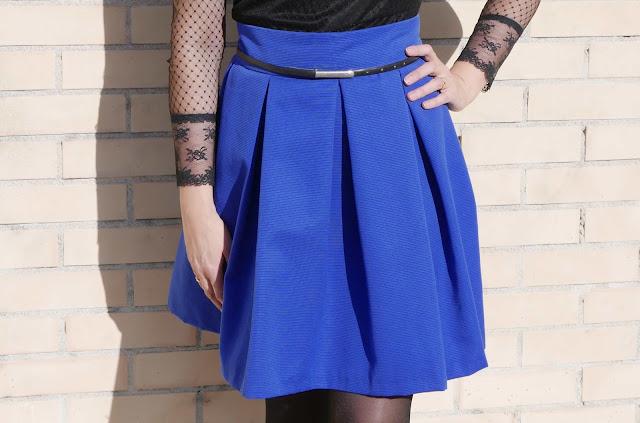 38a7d907d Falda pliegues DIY ~ Moda en la Costura