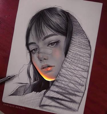 Realistic Pencil Drawings.