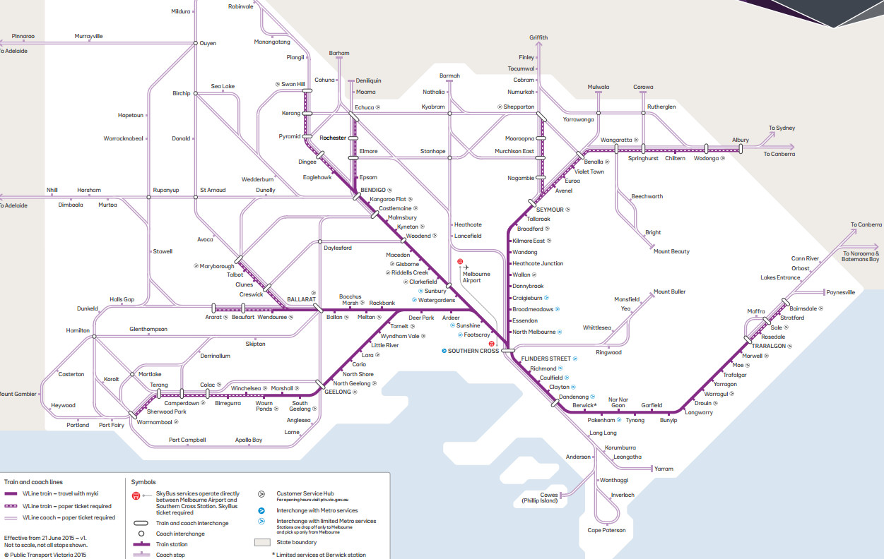 Tips on using bikes with VLine regional trains in Victoria Better