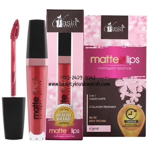 Matte Lips ML04 Grape Violet V'asia