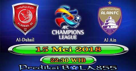 Prediksi Bola855 Al-Duhail vs Al Ain 15 Mei 2018