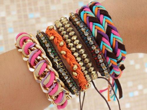 Verão   Mix de pulseiras -    Mania de Olhar    6f334922c8
