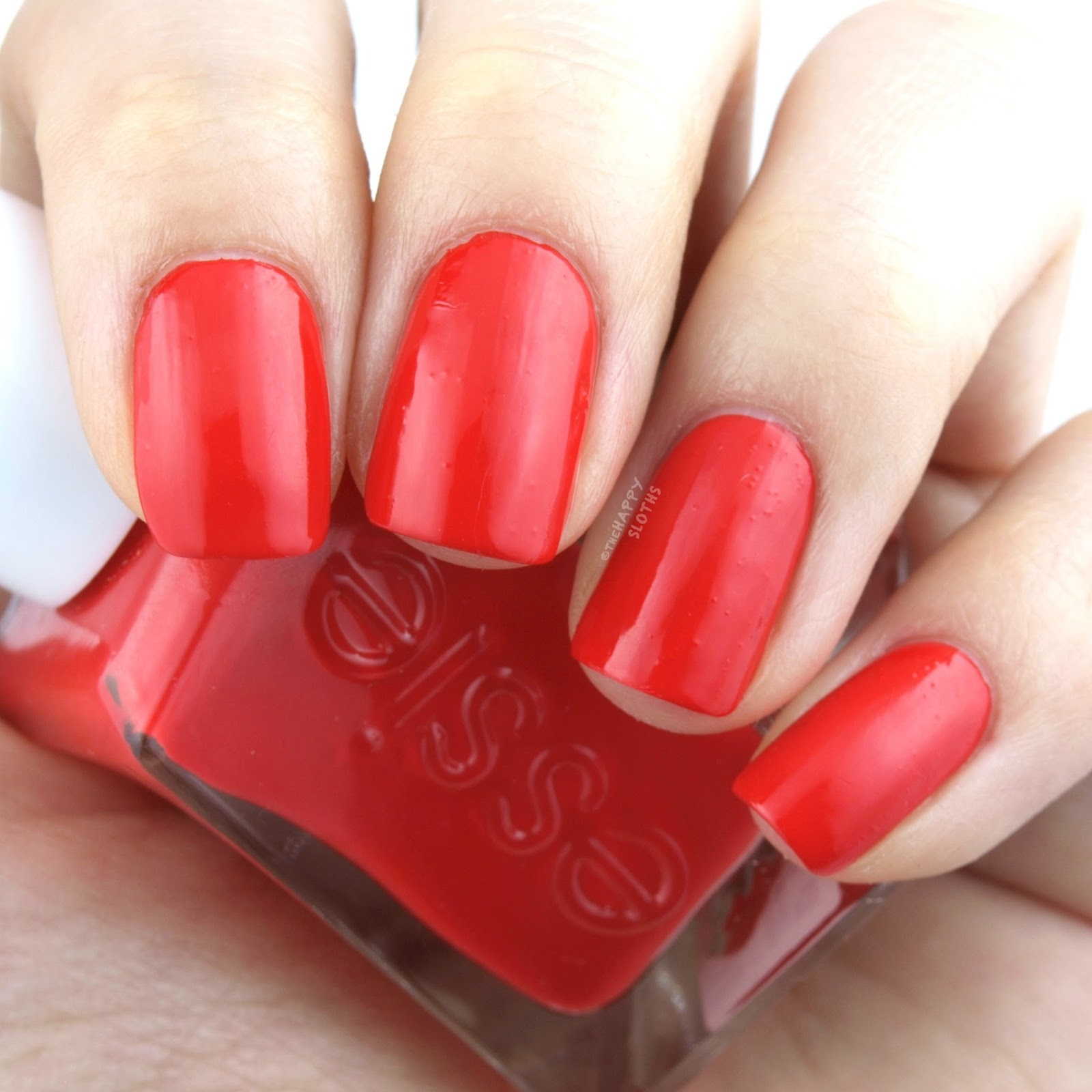 Essie Gel Couture 260 Flashed: Swatches and Review