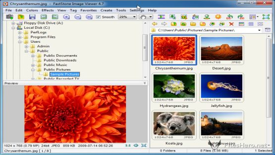 Faststone Image Viewer screenshot 3