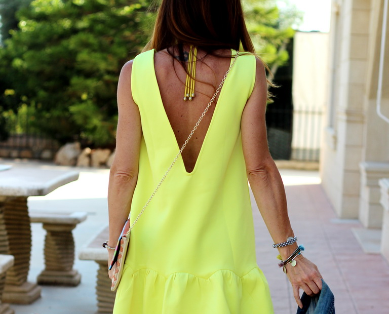 Shein, Yellow dress, Tendencias 2016, fashionblogger, bbeautifulbymaria, cuchicuchi
