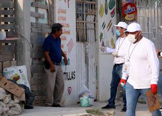 En Cancún ya se realiza la entrega de despensas.