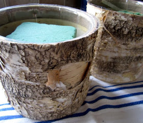birch bark containers