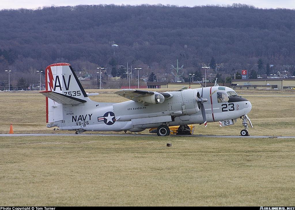 FSX aircraft/aviones (codegab): Grumman S2F-3 Tracker FSX Package