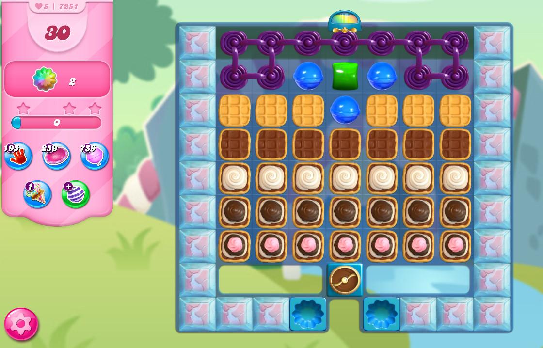 Candy Crush Saga level 7251