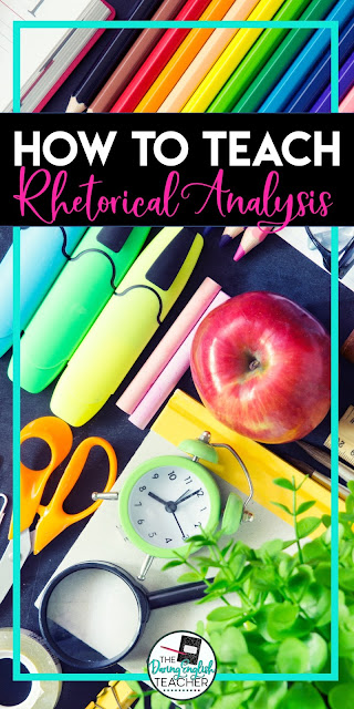 How to Teach Rhetorical Analysis