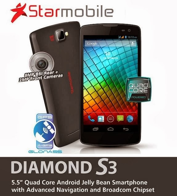 Starmobile Diamond S3