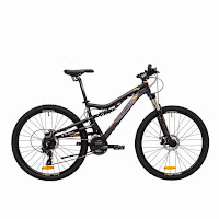 Sepeda Gunung Thrill Oust 1.0 Full Suspension 24 Speed 27,5 Inci