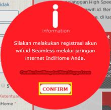 cara daftar wifi id indihome