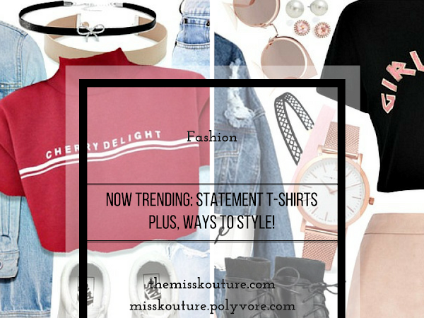 Now Trending: Statement T-Shirts, PLUS two ways to style!