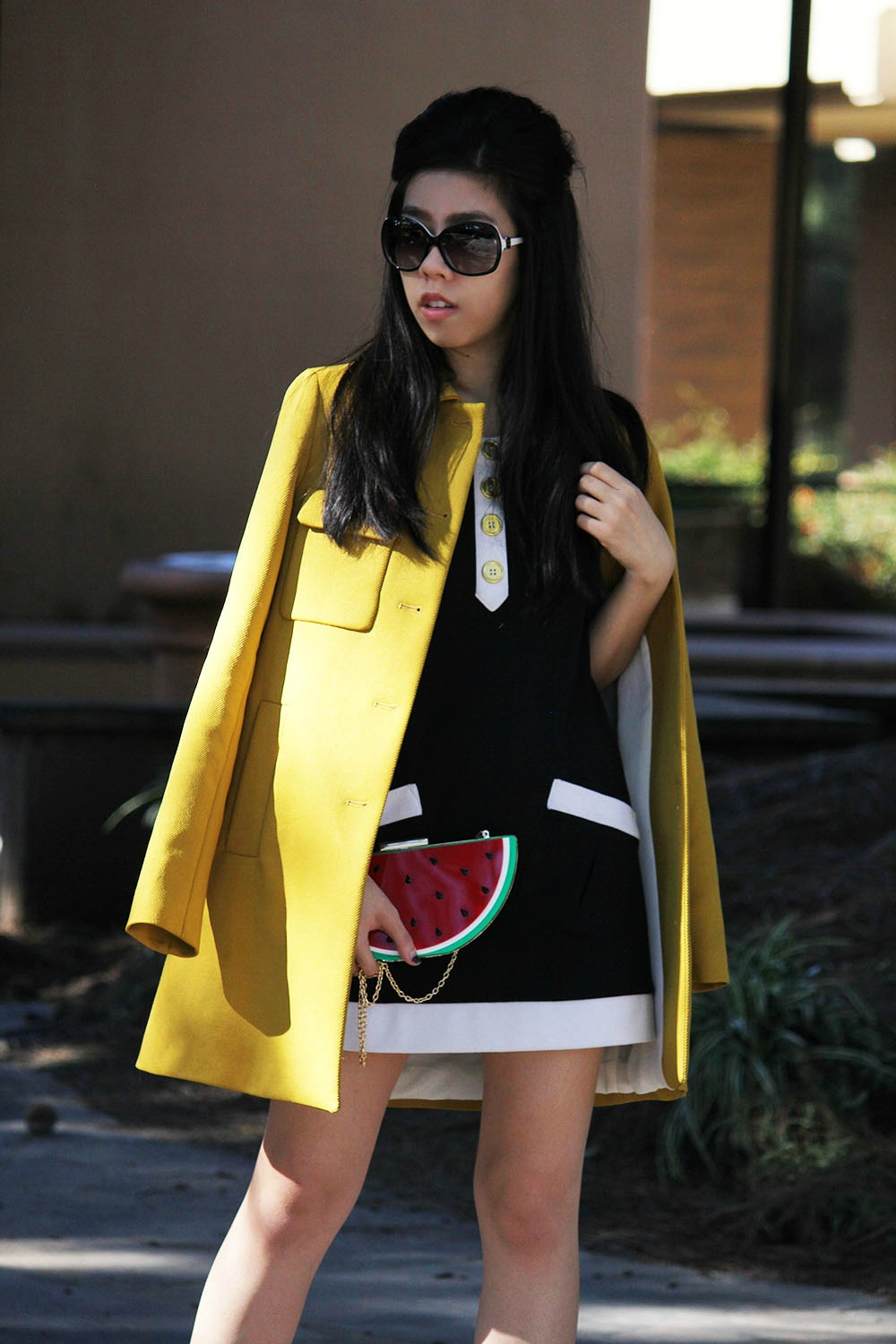Adrienne Nguyen_Invictus_What to wear with block heels_Petite fashion blogger_vietnamese fashion blogger