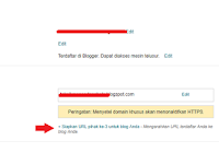 Cara Setting / Memasang Domain Gratis Freenom ke Blogger/Blogspot