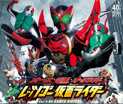 OOO Den-O All Riders Lets Go Kamen Riders Sub Indo