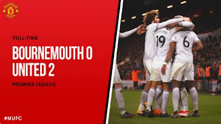 Bournemouth vs Manchester United 0-2 Video Gol & Highlights