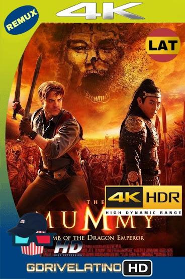 La Momia: La Tumba del Emperador Dragón (2008) BDRemux 4K HDR LAT-CAS-ING MKV