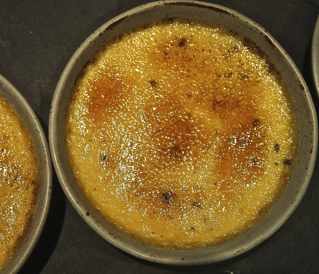 Epicurious Generations Creme Brulee With Sea Salt Chocolate
