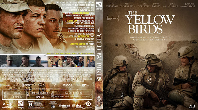 The Yellow Birds Bluray Cover