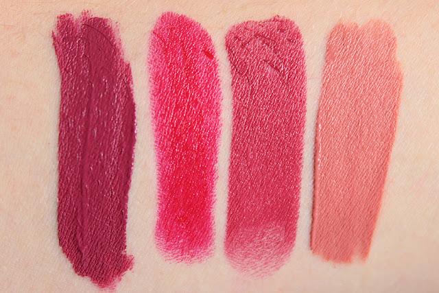 4 Lipsticks for Valentine's Day