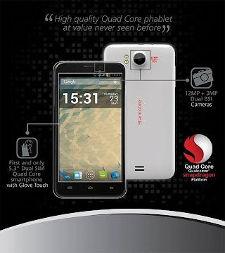 5.3-inch Starmobile Diamond V3 Quad core priced at 8990 pesos