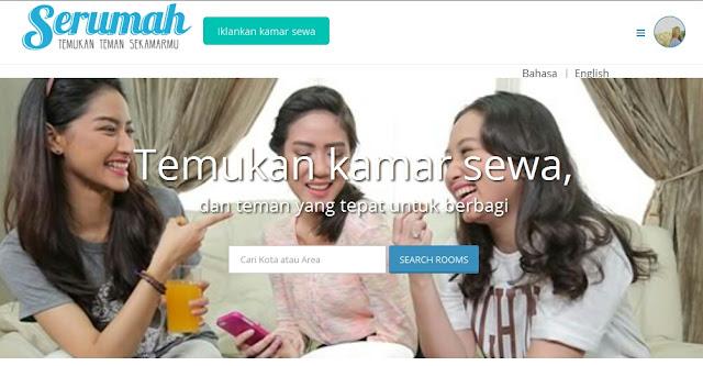 mencari kosan di serumah.com