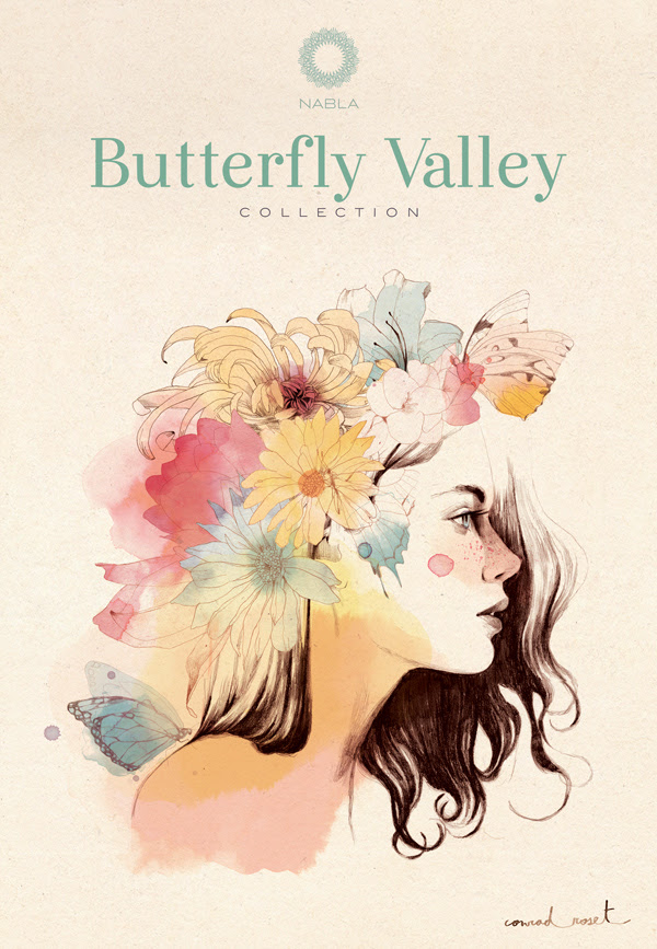 Butterfly Valley, Nabla Cosmetics, Makeup, Cherry Diamod Lips, Conrad Roset