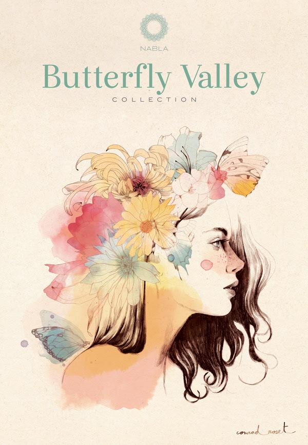 Butterfly Valley, Nabla Cosmetics, Makeup, Cherry Diamod Lips, Conrad Roset